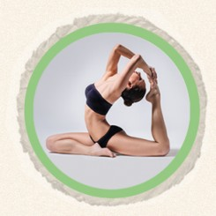 homepage yoga circle image